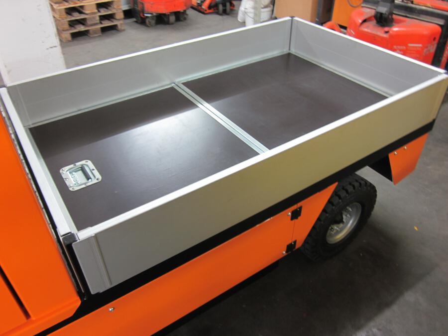 ww.electrocar.de MIRACH Elektrotransporter Typ 800 - mit Aufbau für ...