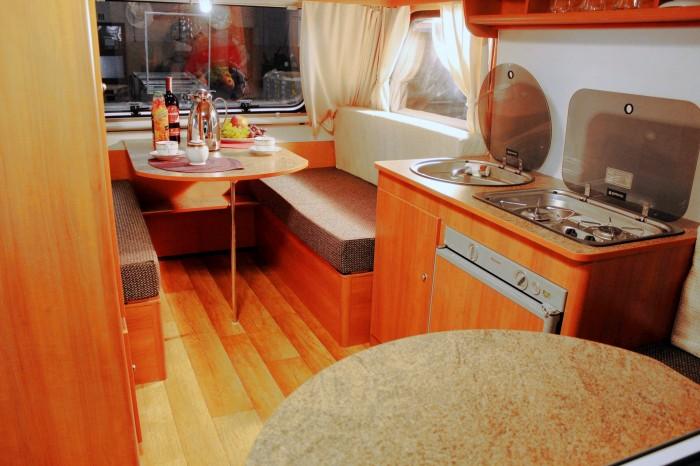 kleines luxus wohnmobil